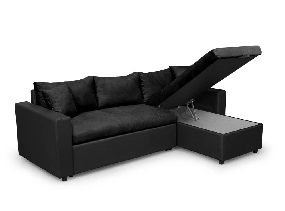canap d 39 angle maria r versible et convertible avec coffre. Black Bedroom Furniture Sets. Home Design Ideas
