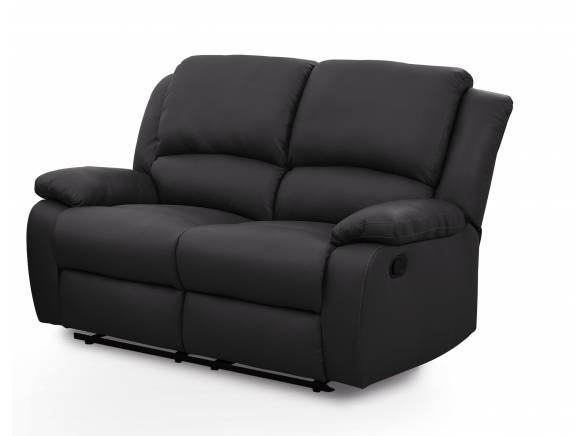 Fauteuil relaxation 1 place simili cuir detente usinestreet - Canape 2 places simili cuir ...