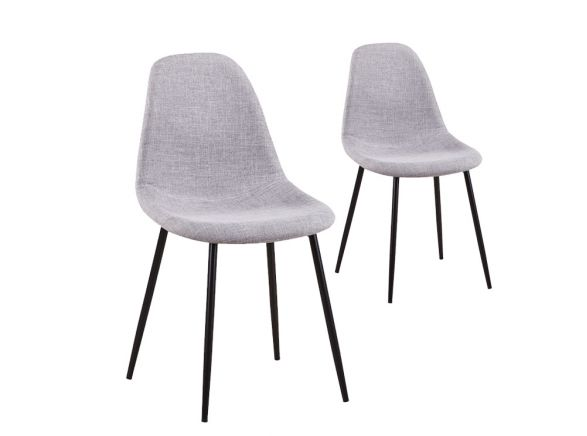 Chaises scandinaves LISA