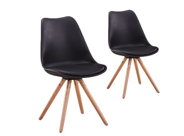 2 chaises scandinave LOOP