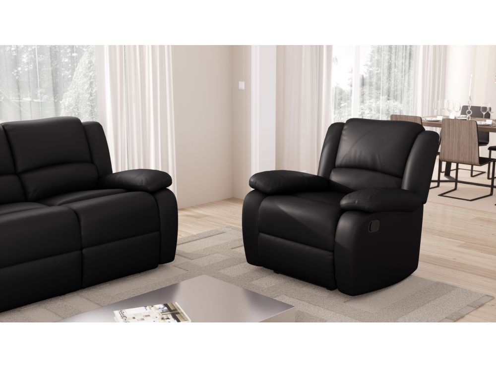 Fauteuil Relaxation 1 place Simili cuir DETENTE Usinestreet