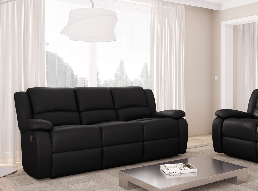 canap en simili cuir fabulous lovely salle a manger wave. Black Bedroom Furniture Sets. Home Design Ideas