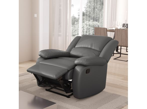 Fauteuil Relaxation 1 place Simili cuir DETENTE...