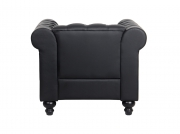 Fauteuil Chesterfield ALFRED en simili