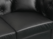 Canapé Chesterfield ALFRED 2 places en simili