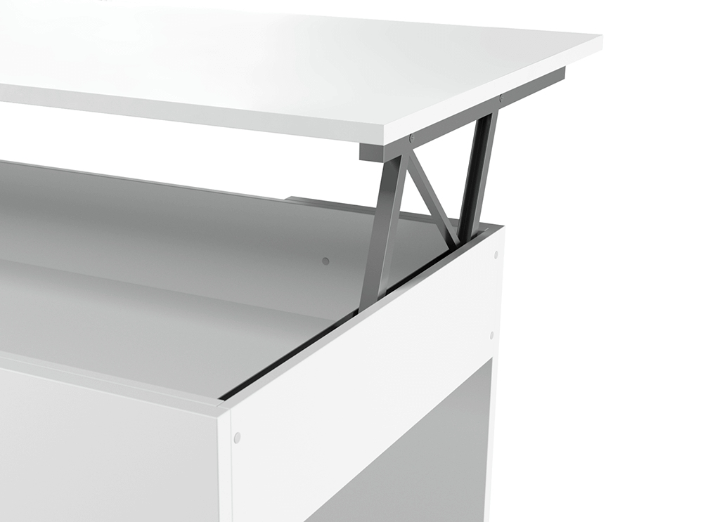 Table Basse Contemporaine Avec Plateau Relevable Gotham
