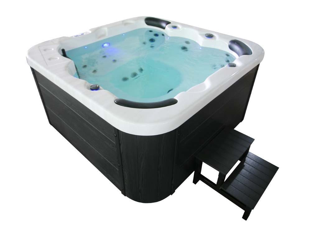 Spa Jacuzzi 6 Places Lorenzo 30 Jets Eclairage Led Bluetooth