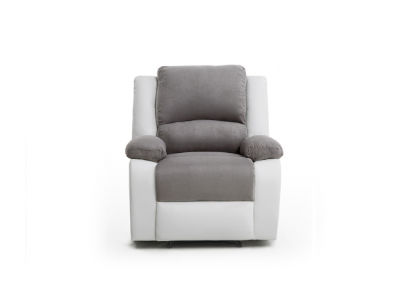 Fauteuil Relaxation 1 place Microfibre / Simili DETENTE